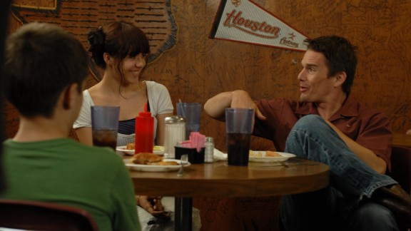 """Best supporting actor: Ethan Hawke in """"Boyhood"""" (pictured), Robert Duvall in """"The Judge,"""" Edward Norton in """"Birdman or (The Unexpected Virtue of Ignorance),"""" Mark Ruffalo in """"Foxcatcher"""" and J.K. Simmons in """"Whiplash."""""""