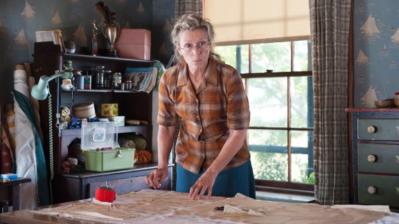 "Outstanding Lead Actress in a Limited Series or Movie: Frances McDormand, ""Olive Kitteridge"""