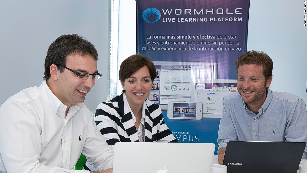 "<strong>Company name:</strong> Wormhole<br /><br /><strong>Founded by:</strong> Sally Buberman<br /><br /><strong>Location:</strong> Argentina<br /><strong><br />Description:</strong> Wormhole allows individual users, organizations and businesses to create their own online training center for a range of tasks and activities.<br /><br />The facility could be used by new starts to company's, long term employees looking to brush up on new skills or simply individuals looking to learn study something new.<br /><br />According to Galperin, this idea of ""high quality, online and scalable education will disrupt traditional education in the coming decades. Wormhole has a great founding team and could lead this field.""<br /><strong><br />Key Figures:</strong> More than 200,000 people a month in more than 10 countries use Wormhole."