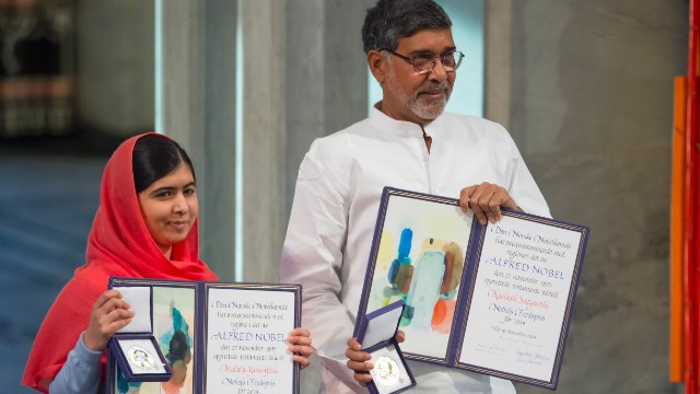 Common struggle for Peace Prize Laureates
