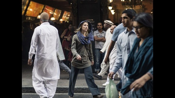 Homeland's CIA operative Carrie Mathison is an agent with psychiatric problems and a tendency to go rogue.