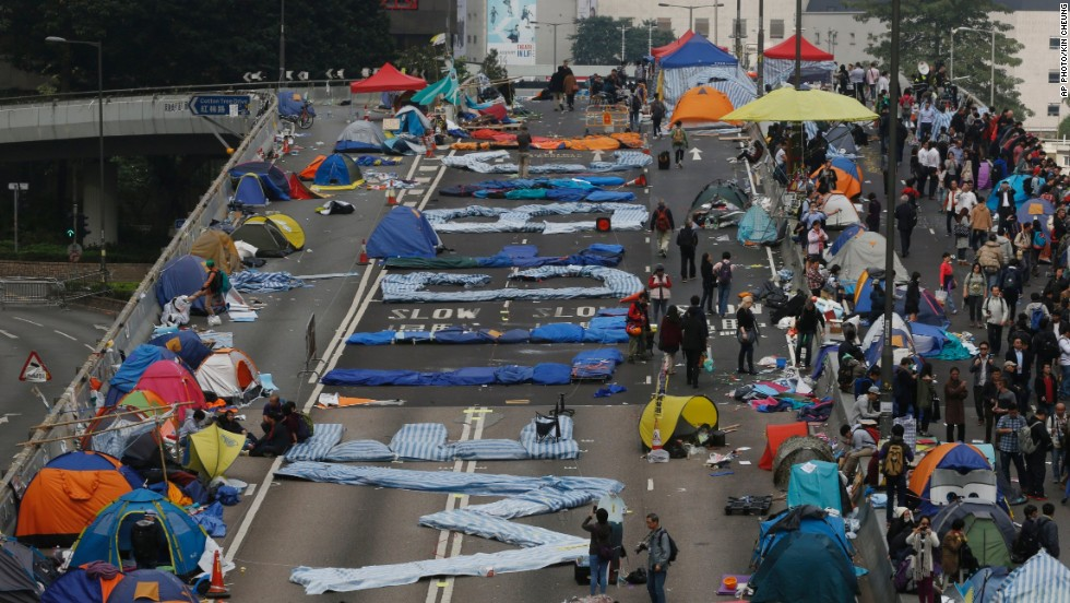 On China: Hong Kong's Umbrella Movement
