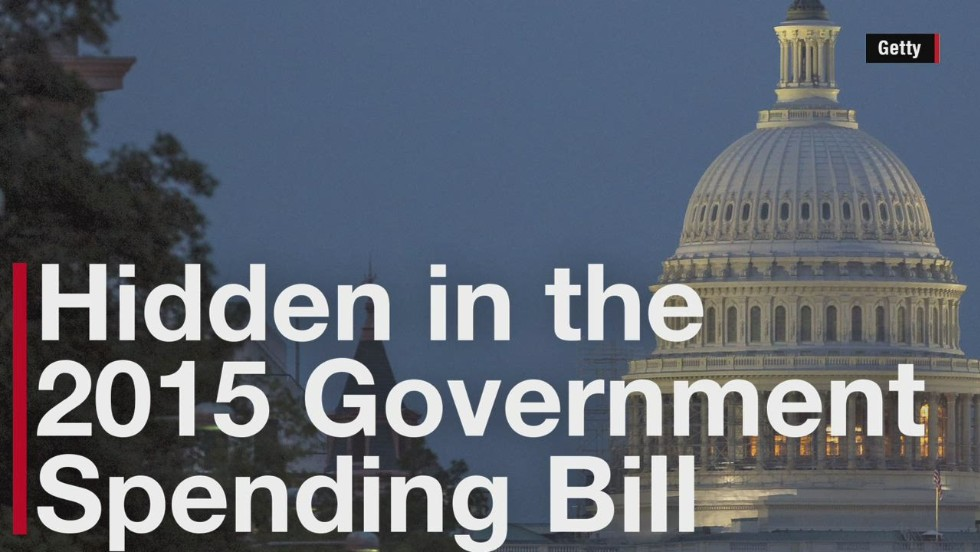 'Policy riders' in the 2015 spending bill