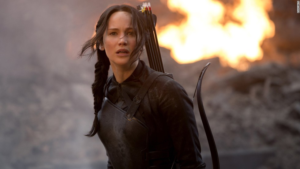 "<a href=""http://popwatch.ew.com/2011/03/17/jennifer-lawrence-too-old-katniss-hunger-games/"" target=""_blank"">While some originally questioned her casting as the ""Hunger Games"" heroine</a>, it is now hard to imagine anyone else rocking that side braid."