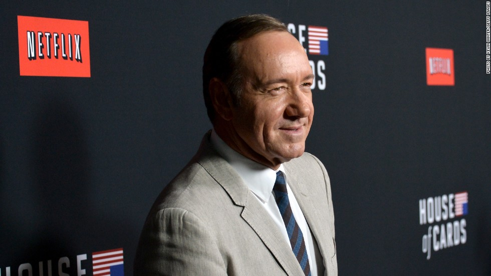 """House of Cards"" star Kevin Spacey came out via a statement on Twitter <a href=""http://www.cnn.com/2017/10/30/entertainment/kevin-spacey-allegations-anthony-rapp/index.html"" target=""_blank"">after he was accused of alleged sexual misconduct </a>in 1986 by actor Anthony Rapp when Rapp was 14 and Spacey was 26. Spacey apologized to Rapp in the statement and also said, ""I have loved and had romantic encounters with men throughout my life, and I choose now to live as a gay man."""