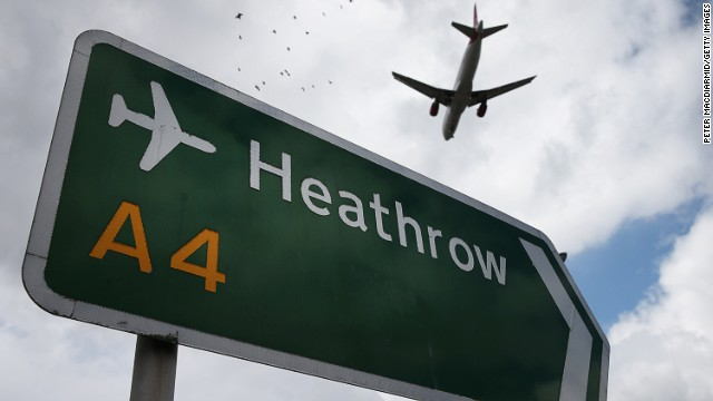 Heathrow is the world's third-busiest airport