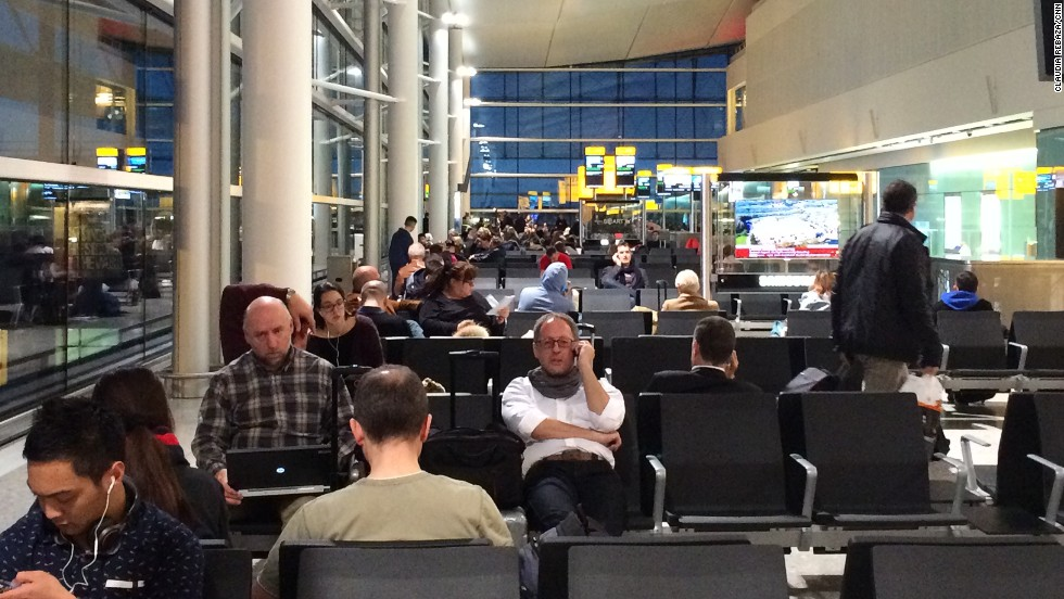 Thousands of travelers heading into or out of the British capital for the weekend are likely to be delayed, as well as those on flights connecting through London airports.