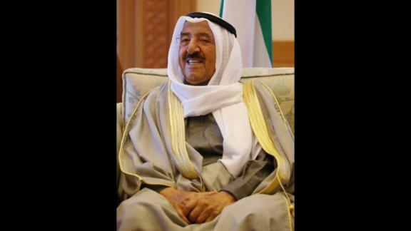 Sheikh Sabah Al-Ahmad Al-Jaber Al-Sabah has been Emir of Kuwait since 2006.