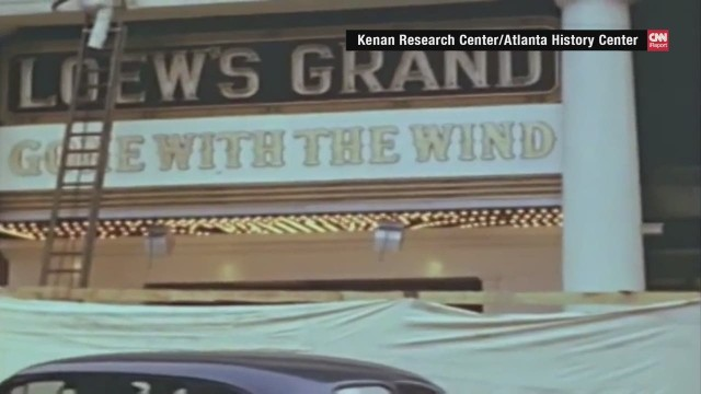 Rare 'Gone with the Wind' video
