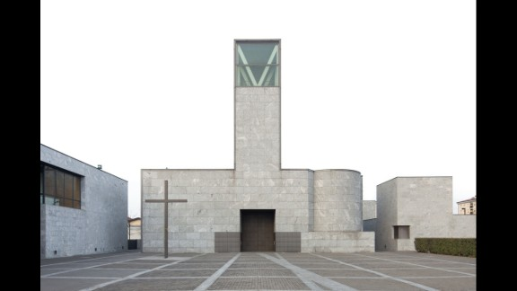 Gregotti also designed the Church St. Clement in Milan, Italy.