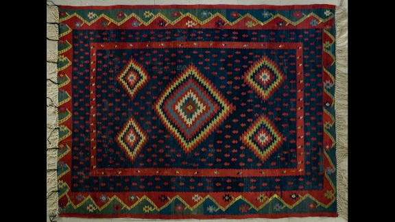 Pirot carpets are carefully woven with strands of wool and the art itself can be traced back to the middle ages. Each carpet is unique and often tells a story through it's detailed patterns.