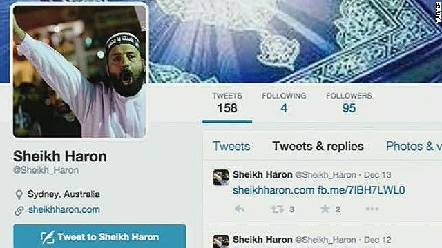 Gunman made hostages use social media