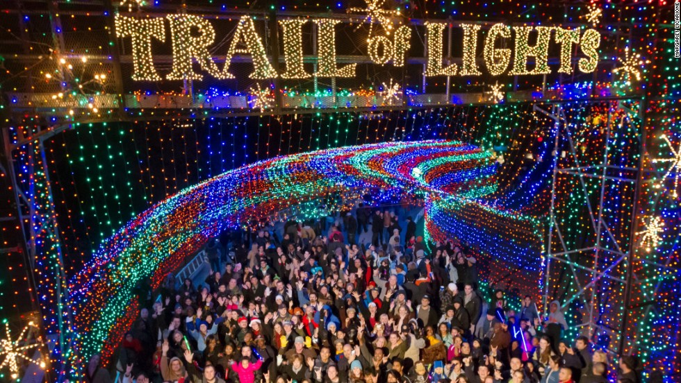 7 best places to see Christmas lights in the USA | CNN Travel