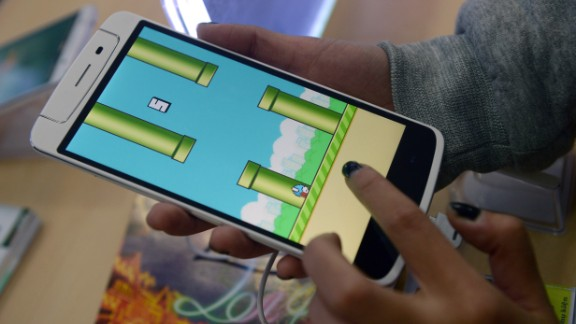 Unexpected hit smartphone game Flappy Bird inspired hours of tapping, lengthy think pieces -- and a large number of Google searches.