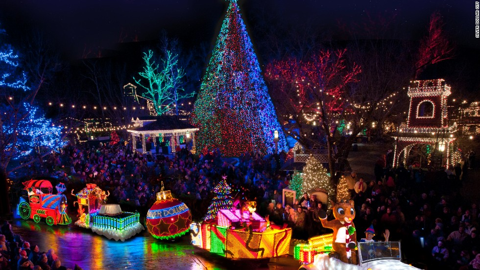 7 best places to see christmas lights in the usa cnn travel - Christmas Light Show Michigan