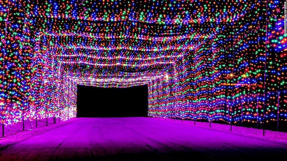 7 best places to see christmas lights in the usa cnn travel - Best Christmas Light Show