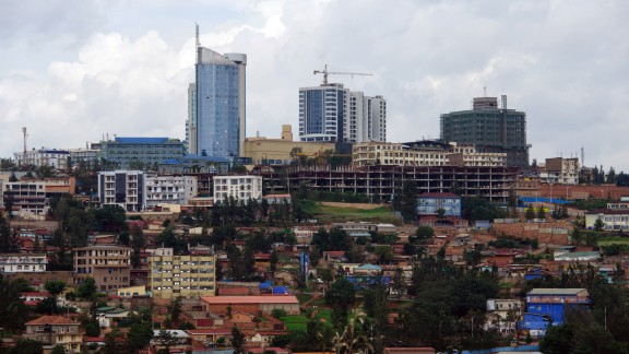 """The small and landlocked country Rwanda is predicted to grow by 7.2%. The aim of their """"Vision 2020"""" plan is to transform the country into a service and knowledge-based economy."""