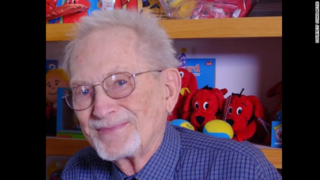 "Norman Bridwell wrote dozens of books about ""Clifford the Big Red Dog."""