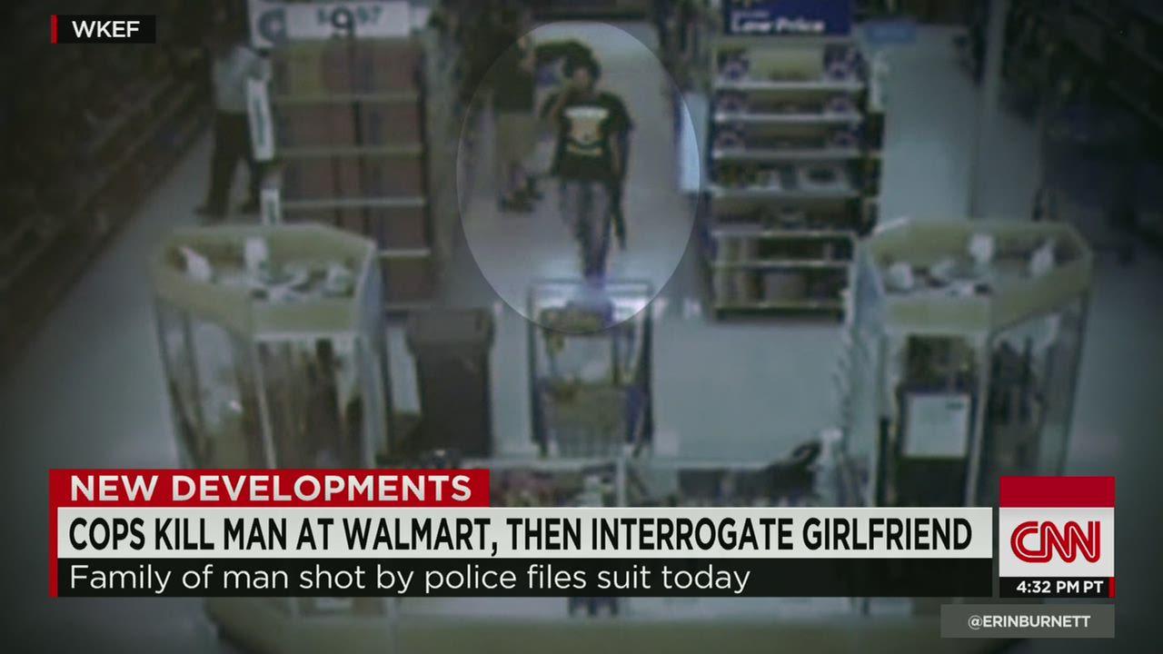 Cops kill man at Walmart carrying BB gun - CNN Video