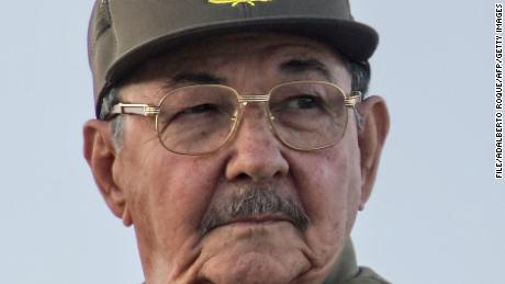 Cuban acting President Raul Castro participates in a military parade on December 2, 2006 at the Revolution Square to celebrate the 50th Anniversary of the Cuban Army and the 80th birthday of his brother, Cuban President Fidel Castro.