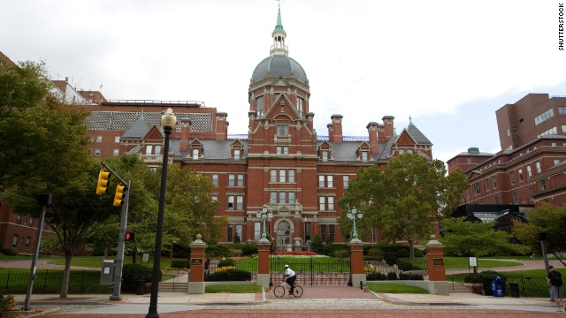 Johns Hopkins University in Baltimore gave rejected applicants false hope when it accidentally sent them acceptance letters