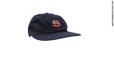 944b6f310b6 A hat that Babe Ruth wore in 1934 sold for more than  300