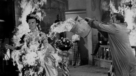 """""""House of Wax"""" -- Before starring in """"House on Haunted Hill,"""" Vincent Price fronted this early 3D film from 1953. Price played a sculptor who after a fire destroys his wax museum, refills it with wax-coated murder victims."""