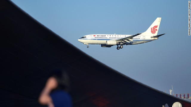 A fight broke out over a crying baby on a plane this week, one of several inflight incidents involving Chinese passengers in recent days.
