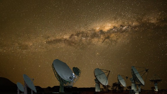 Africa has been slow to embark on space travel. But new projects on the continent look promising. South Africa's ambitious Square Kilometer Array project aims to build the world's biggest radio telescope that will help scientists paint a detailed picture of some of the deepest reaches of outer space. Pictured here: a composite image of the MeerKAT and Square Kilometre Array Pathfinder (ASKAP) satellites.
