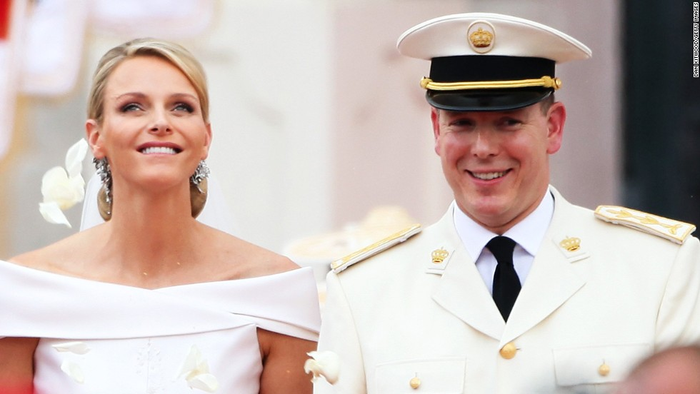 Princess Charlene of Monaco and Prince Albert II of Monaco welcomed twins Crown Prince Jacques Honore Rainier and Princess Gabriella Therese Marie in December 2014. The couple married in 2011. Prince Albert, Monaco's reigning monarch, is the son of Prince Rainier and Princess Grace, who was formerly known as Hollywood actress Grace Kelly.