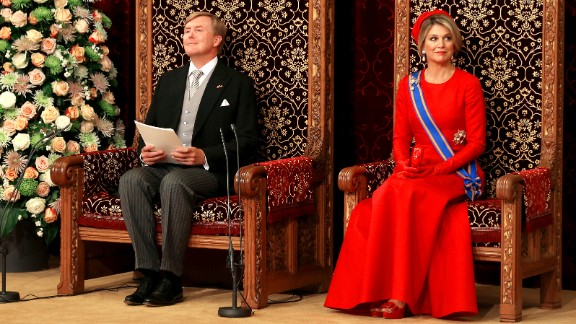 King Willem-Alexander, seen here with his wife, Queen Maxima, succeeded his mother on the throne of the Netherlands. His mother, Princess Beatrix, was Queen of the Netherlands from 1980 to 2013, when she abdicated.
