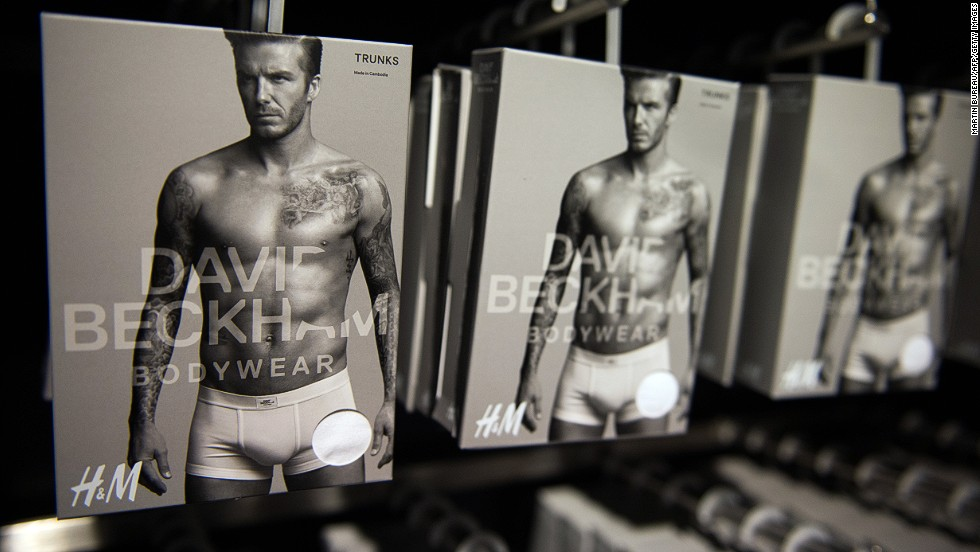Already one of the world's most recognizable sport's stars, David Beckham got in on the bulging underwear market in 2012 when he collaborated with Swedish fashion retailer H&M.