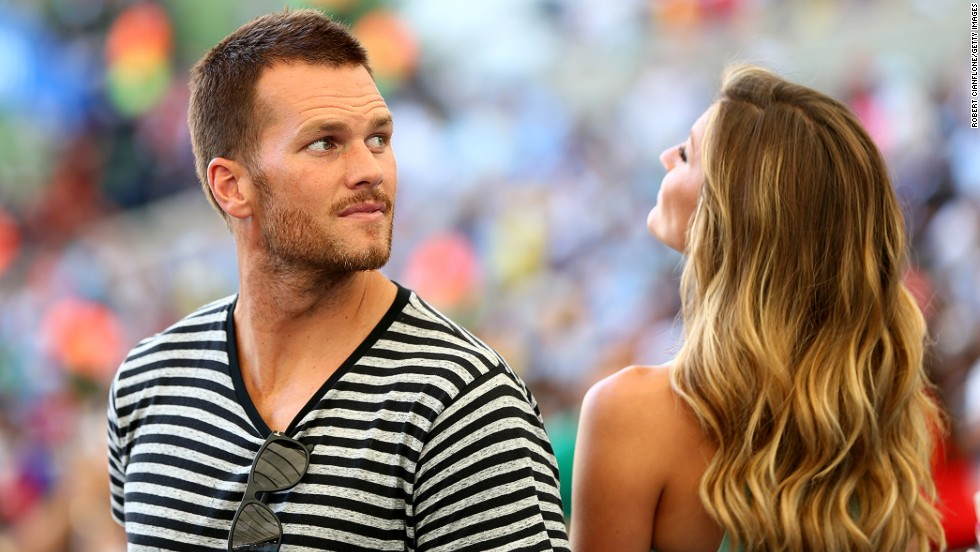 New York writer Seth Stevenson predicts pants by NFL superstar Tom Brady could be a big seller. If he did launch a range maybe Brady could get some posing tips from his model wife Gisele Bundchen.