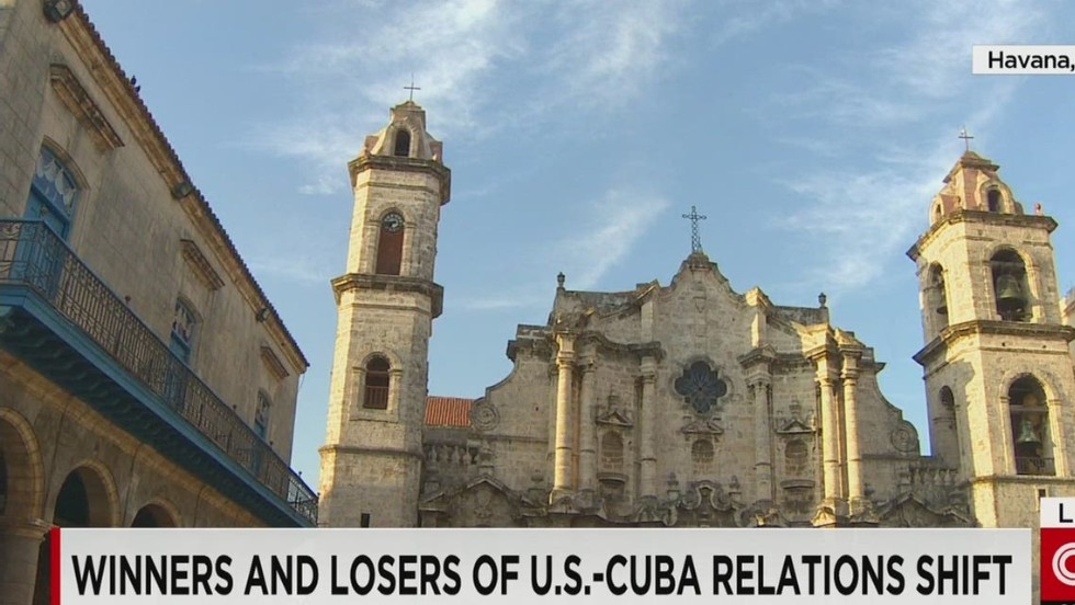 Winners and losers in new Cuba relations
