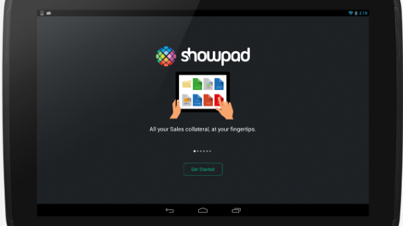 Sales and marketing app Showpad provides insights to its business users and gather activity reports on its content. It also allows for annotation on documents, making note-taking easily accessible for multiple users at a time.