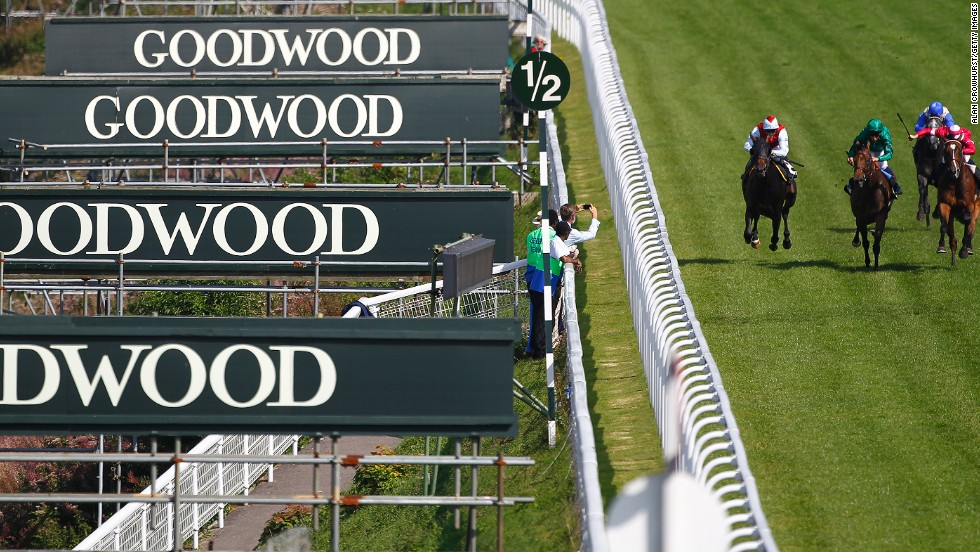The Goodwood Festival is one of the most popular meets in the British horse racing calendar.