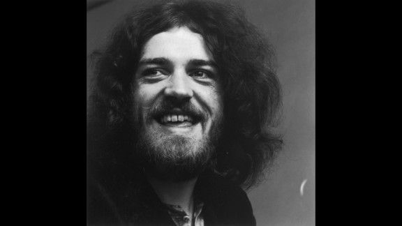 British blues-rock singer Joe Cocker, seen here in 1969, was a hugely popular entertainer in his late-'60s and early-'70s heyday. Cocker died Monday at age 70 after a battle with lung cancer.