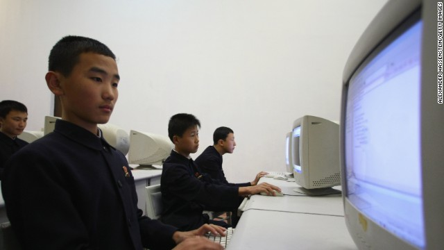 YONGYANG, NORTH KOREA - OCTOBER 18: Children of the Mangyongdae Schoolchildren's Palace attending extra facultative computer class after school on October 18, 2007 in Pyongyang, North Korea.(Photo by Alexander Hassenstein/Getty Images)