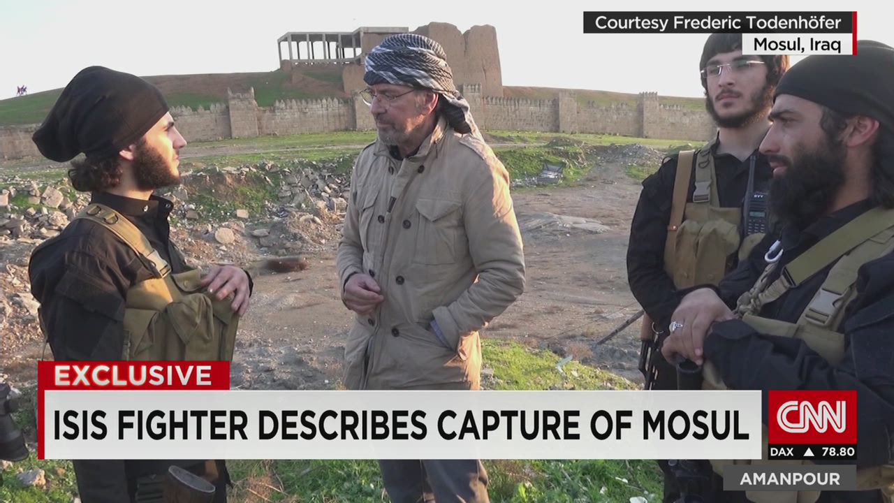 Inside ISIS: Rare access to Islamic State - CNN Video