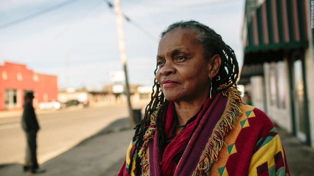 "Toure says Selma gave so much to American democracy but the nation gave little back to this impoverished Alabama Black Belt city of 20,000 people. ""People need to do something for Selma,"" she says. ""They come, peer at us and leave."""