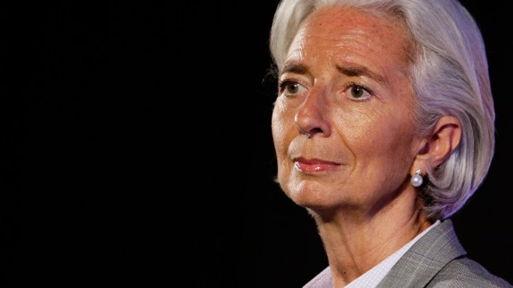 """In 2014, Lagarde was ranked the 5th most powerful woman in the world by Forbes magazine.  """"I'm the managing director of the International Monetary Fund.,"""" she recently told CNN. """"I don't want to let my female colleagues around the globe down.""""   However, in August 2014 she was placed under formal investigation in France for her alleged involvement in a long-running fraud case. When asked by CNN about how she copes with the allegation she replied: """"With strength, with my sense of duty to my country, with the certainty that I made the right choice at the time independently and the rest is dealt with now by the lawyers... so I don't focus on the issue anymore."""""""