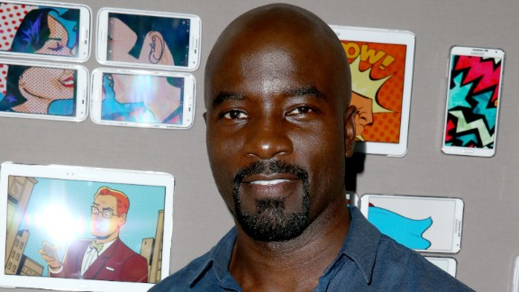 "Mike Colter is superhero Luke Cage/Power Man in the Netflix series ""Jessica Jones"" and ""Luke Cage."""