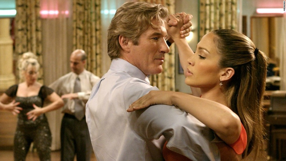 "<strong>""Shall We Dance"" (2004)</strong>: Richard Gere and Jennifer Lopez cut a rug in this romantic remake of a Japanese film. <strong>(Netflix, Amazon)</strong>"