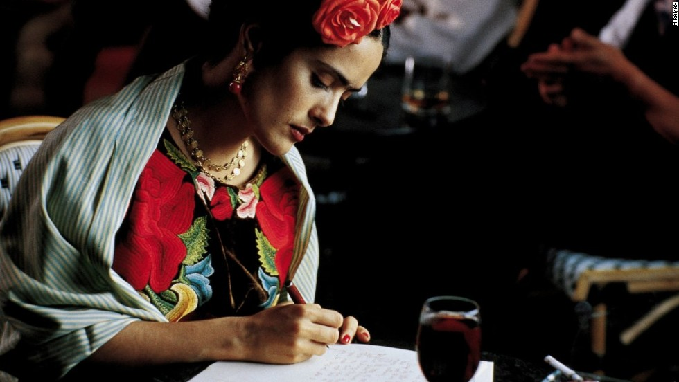 "<strong>""Frida"" (2002)</strong>: Salma Hayek fulfilled a long-held dream portraying the unconventional artist. <strong>(Amazon)</strong>"