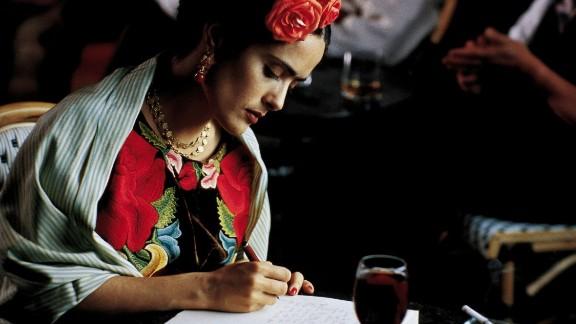 """Frida"" (2002): Salma Hayek fulfilled a long-held dream portraying the unconventional artist. (Amazon)"