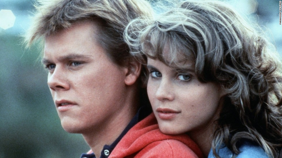 "<strong>""Footloose"" (1984)</strong>: A young Kevin Bacon and Lori Singer star in this cult classic about a teen who takes on a conservative town's rules. <strong>(Amazon)</strong>"