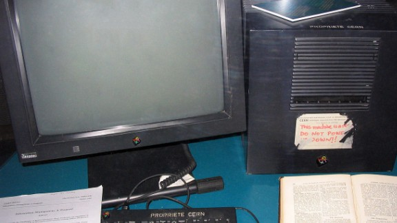 The first web server, used by Berners-Lee in the early 1990s.