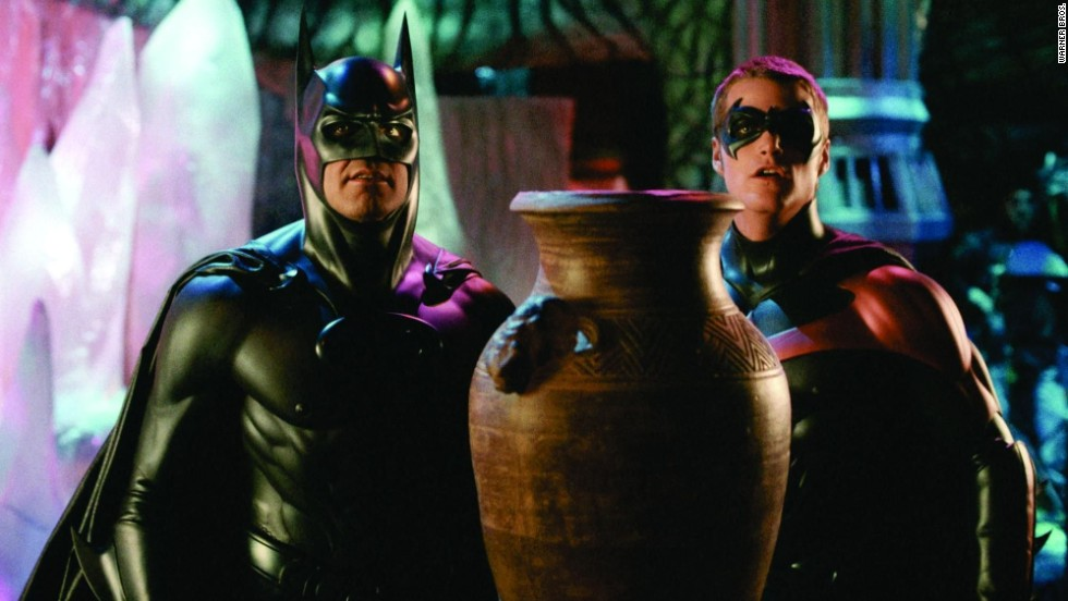 "<strong>""Batman & Robin"" (1997)</strong>: George Clooney and Chris O'Donnell star as the Caped Crusader and the Boy Wonder in this action film. <strong>(Netflix) </strong>"
