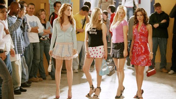 """""""Mean Girls"""" (2004): How fetch is it that this cult comedy about a group of popular high-schoolers is once again streaming? (Netflix)"""