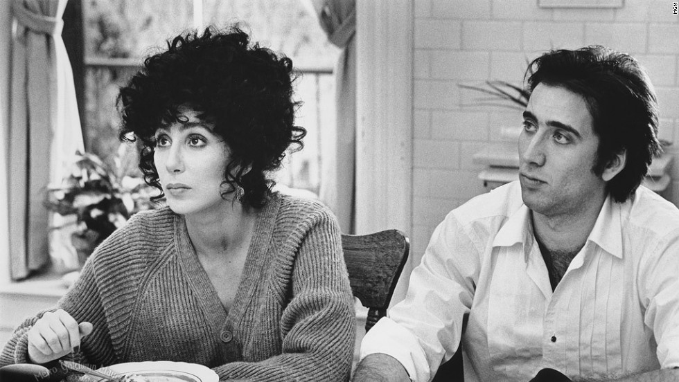 "<strong>""Moonstruck"" (1987)</strong>: Cher and Nicolas Cage play unexpected lovers in this film, which won Cher an Oscar for best actress.<strong> (Amazon)</strong>"